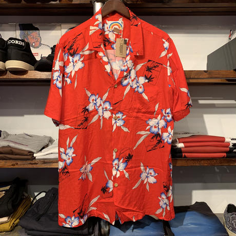 PARADISE FOUND aloha shirt(XL)