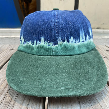 KP CAPS tye dye native adjuster cap (Blue)
