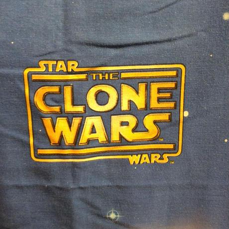 """STAR WARS """"CLONE WARS""""  full flat sheet"""