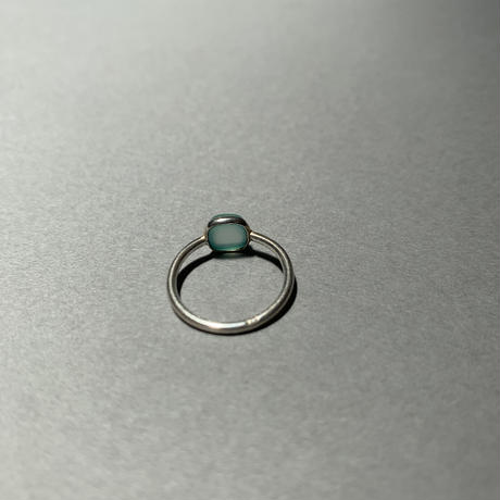 aqua stone ring