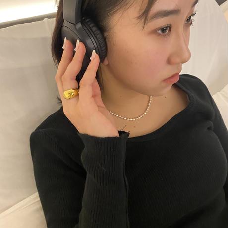 L gold ear cuff