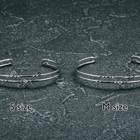 épingle double bangle