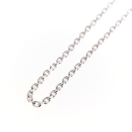 あずきチェーン(Silver925)鏡面/中太