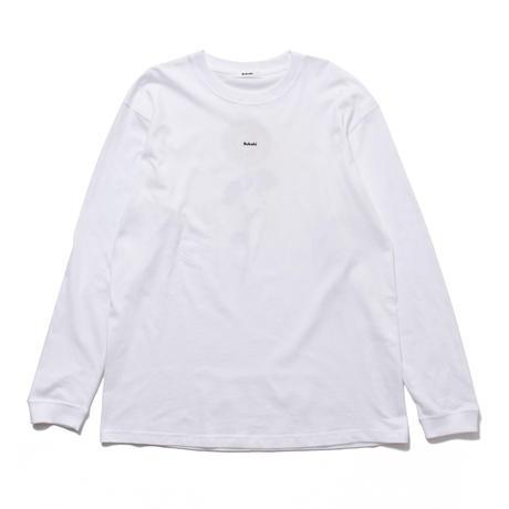 SUN FLOWER L/S SHIRT (WHITE) 10009