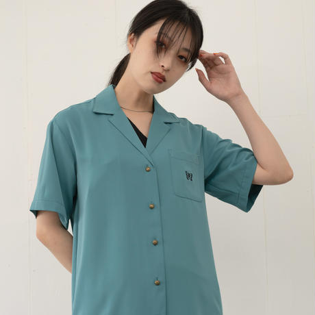 【STANDARD】SUMMER OPEN COLLAR SHIRT