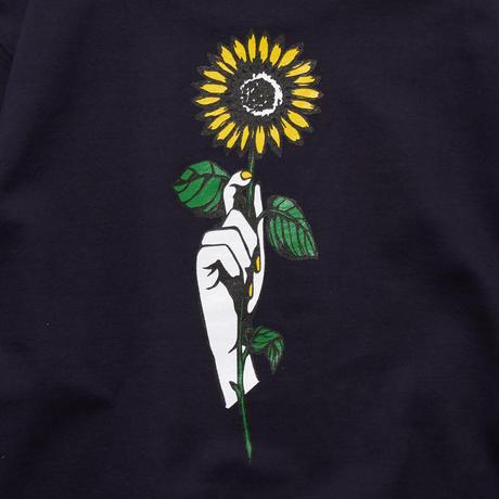 SUN FLOWER SWEAT SHIRT (NAVY) 20001