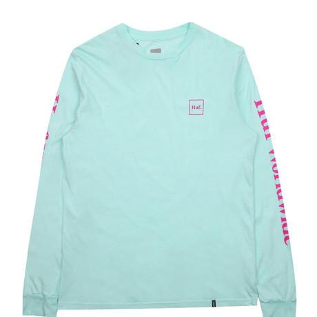 Huf Domestic L S T Shirts Celadon Rulez By