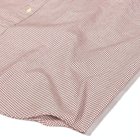 USED GAP Plaid Check Shirts-white/red