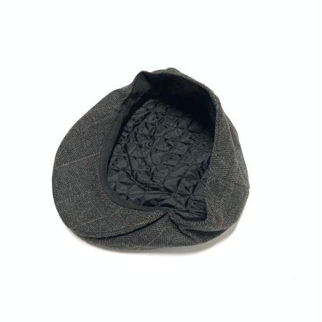 KB ETHOS WOOL ASCOT HAT-BLACK