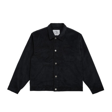 POLAR SKATE CO CORD-JACKET-BLACK