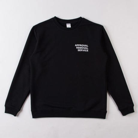 GRIND LONDON A.R.S. SWEATSHIRT - BLACK