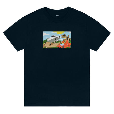 CLASSIC GRIP MINI RAMP TEE - NAVY