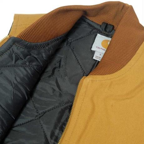 Carhartt V01 Duck Vest - Carhartt Brown