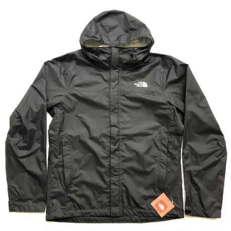 THE NORTH FACE VENTURE JACKET - BLACK/WHITE
