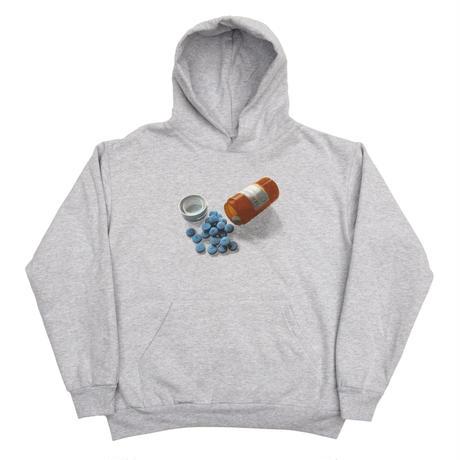 Bronze 56k Pill Hoodie - Ash