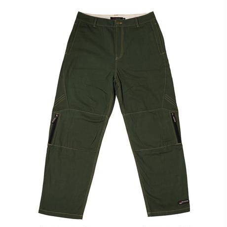 BRONZE ZIP TECH PANT - GREEN