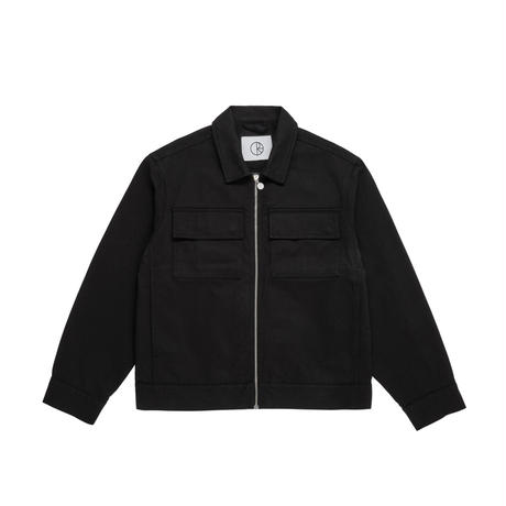POLAR SKATE CO TWILL JACKET-BLACK