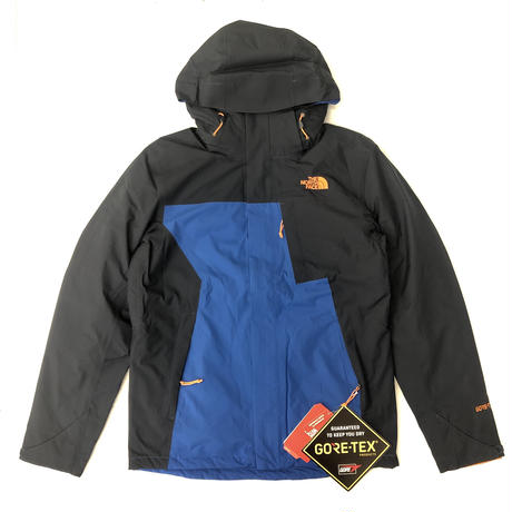 THE NORTH FACE MTN LT TRICLIMATE JACKET - NAVY/BLUE/ORANGE