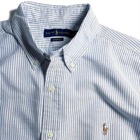 Ralph Lauren Oxford Sport Shirt - Blue Stripe  (M~XL)