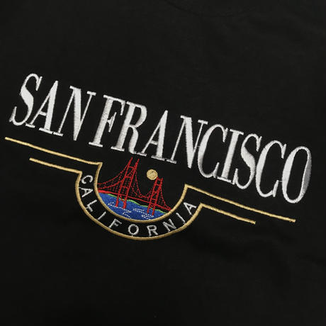 SAN FRANCISCO  SOUVENIR CALIFORNIA TEE - BLACK