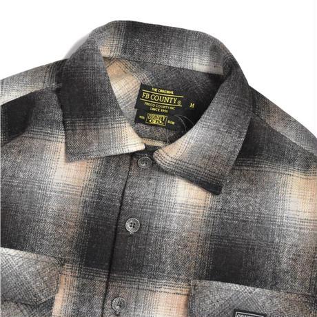 FB County Super Heavyweight Wool Blend L/S Shirt - Tan