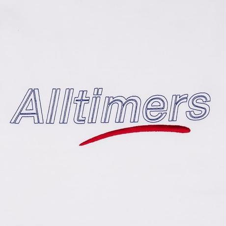 ALLTIMERS DASHED CREW - White