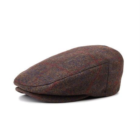 BRIXTON BARREL SNAP CAP - BROWN/BURGUNDY