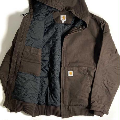 Carhartt Washed Duck Insulated Active Jacket - Dark Brown
