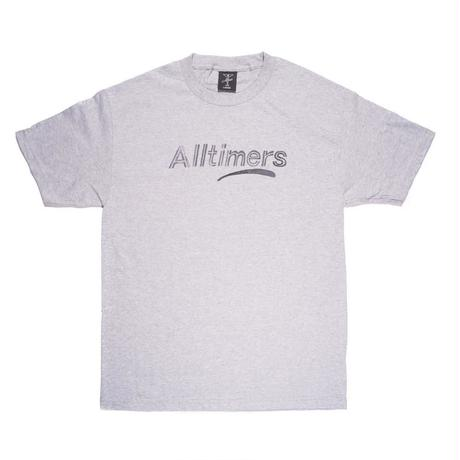 Alltimers ESTATE WATERCOLOR TEE-GREY