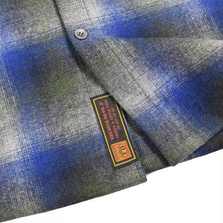 FB County Super Heavyweight Wool Blend L/S Shirt - Royal