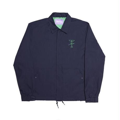 ALLTIMERS FINESSE COACHES JACKET NAVY