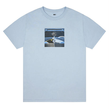 CLASSIC GRIP LUXURY CAR TEE - BABY BLUE