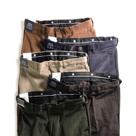 Haggar Premium Stretch Corduroy Pants - Military Green