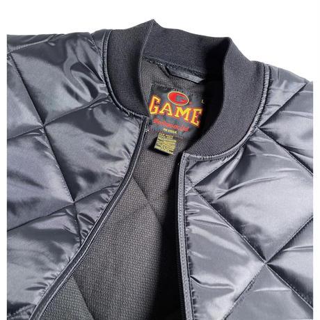 GAME Sportswear Finest Diamond Quilt Vest - Black