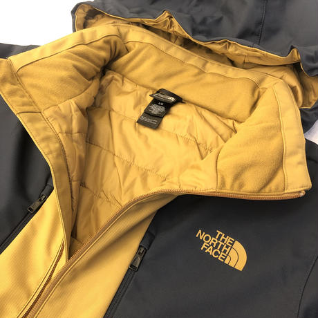 THE NORTH FACE APEX ELEVATON JACKET - YELLOW/NAVY