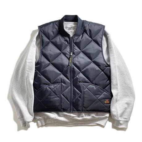 GAME Sportswear Finest Diamond Quilt Vest - Dark Navy