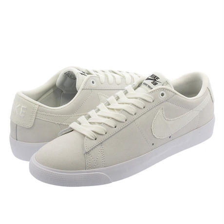 NIKE SB ZOOM BLAZER LOW GT -SUMMIT WHITE/OBSIDIAN