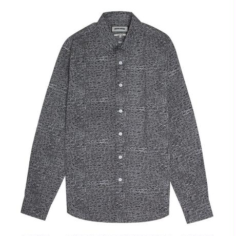 FUCKING AWESOME All Over Dress Shirt - Black