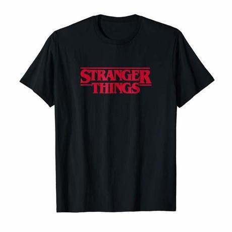 STRANGER THINGS S/S TEE - BLACK