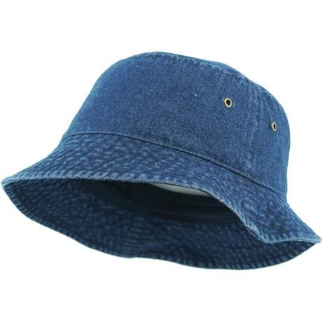 KB ETHOS Solid Bucket Hat - Dark Denim  0514b7bee4f