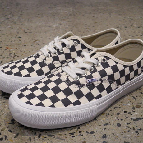 VANS AUTHENTIC PRO - CHECKERBOARD NAVY