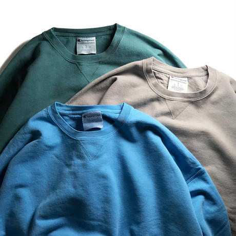 Champion 10oz Garment Dyed Crewneck -  Cactus
