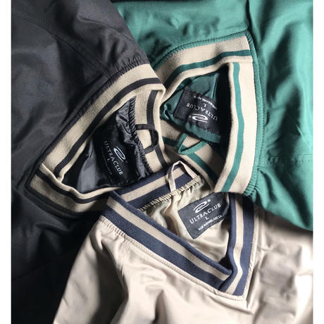 Ultra Club V-Neck Wind Shirt - Forest/Tan