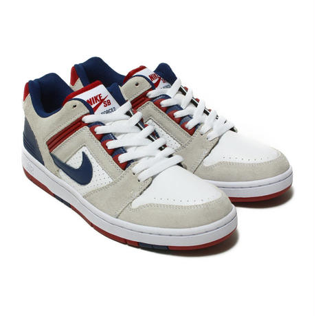 NIKE SB AIR FORCEII LOW-WHITE/BLUE VOID-RED CRUSH-WHITE