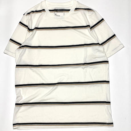 Striped Tee-White
