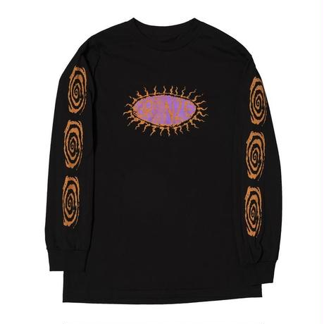 BRONZE SURFER L/S TEE - BLACK