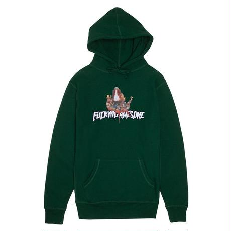 FUCKING AWESOME NIGHTMARE HOODIE - HUNTER GREEN