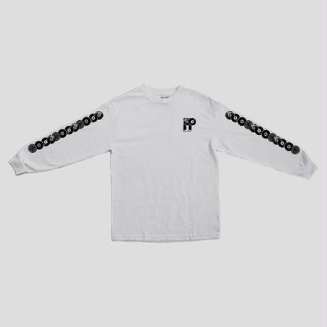 PASS~PORT PP WORLD RECORDS  L/S TEE - WHITE