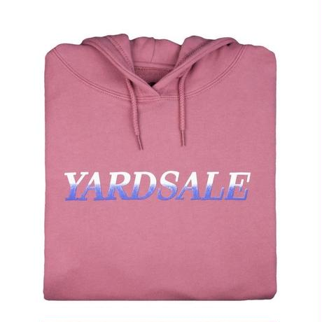 YARDSALE Fade Hood Rose pink