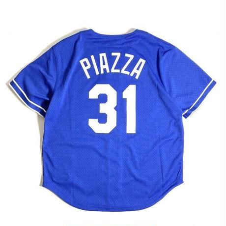 Mitchel & Ness Authentic BP Button Front Jersey - Los Angeles Dodgers Mike Piazza